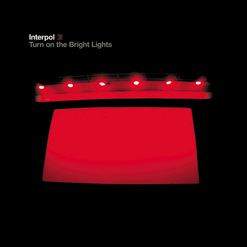 Interpol ‎– Turn On The Bright Lights Vinyl Record Album