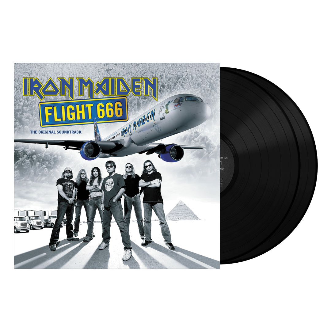 Iron Maiden ‎– Flight 666 - The Original Soundtrack 180g 2LP Vinyl Record Album