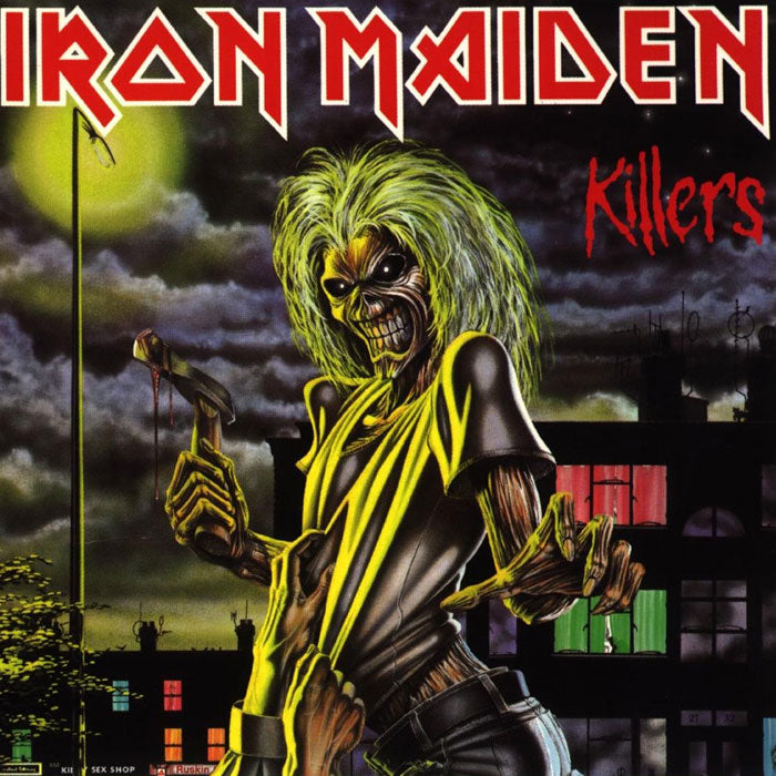 Iron Maiden ‎– Killers 180g Remastered Vinyl Record Album