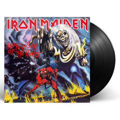 Iron Maiden ‎– The Number Of The Beast 180g Remastered Vinyl Record Album