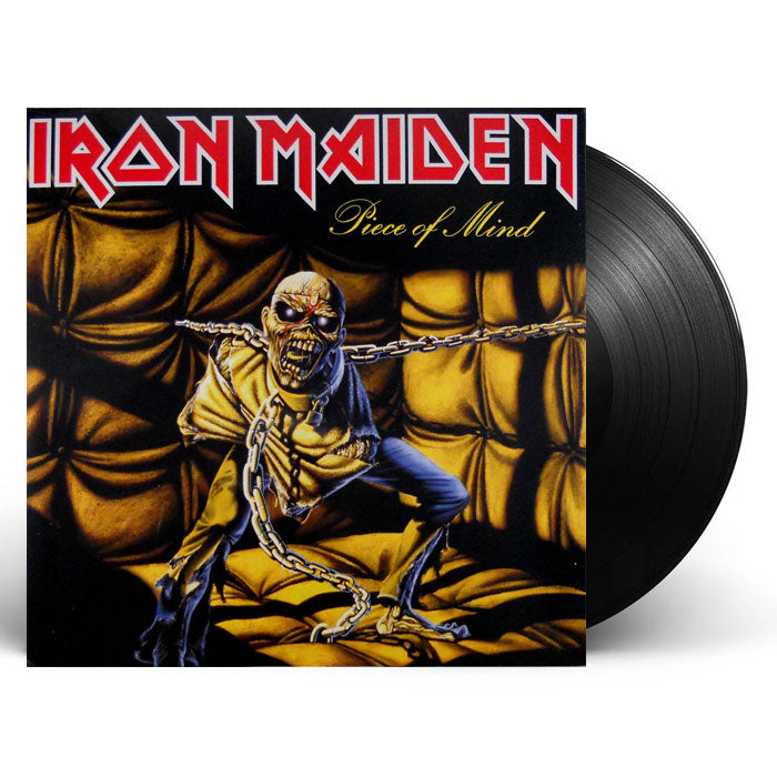Iron Maiden ‎– Piece Of Mind 180g Remastered Vinyl Record Album