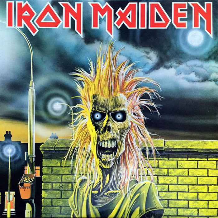 Iron Maiden ‎– Iron Maiden Remastered Vinyl Record Album