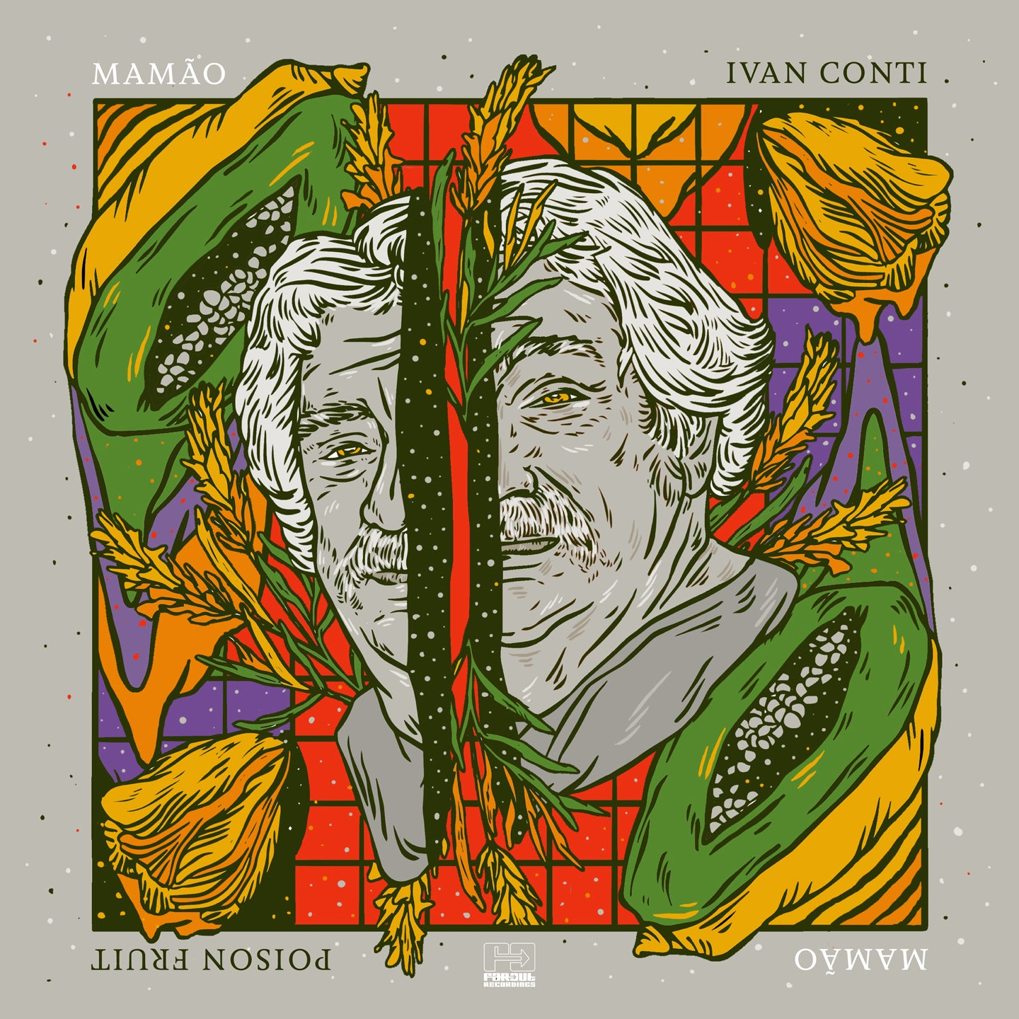 "Ivan Conti - Poison Fruit Special Edition (RSD 2020 Drop One) 180g Grey Splatter Colour Vinyl + 7"" Record"