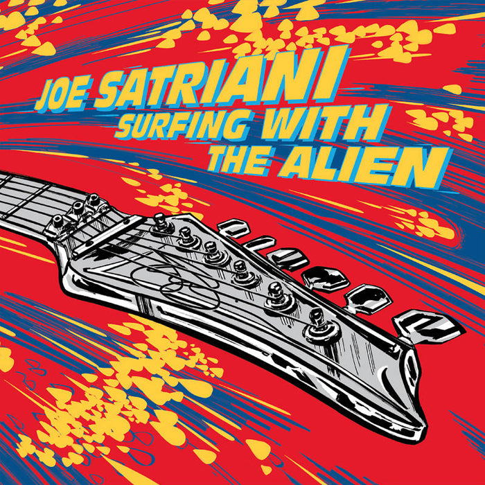 Joe Satriani - Surfing With The Alien (RSD Black Friday) Deluxe Colour Vinyl Record Album