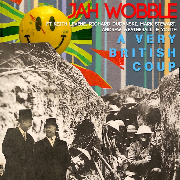 "Jah Wobble - A Very British Coup (RSD 2020 Drop One) Yellow Colour Vinyl 12"" Record"