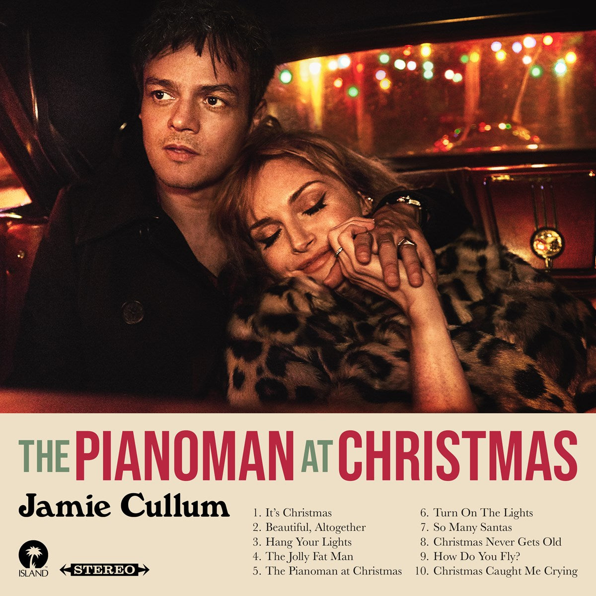 Jamie Cullum – The Pianoman At Christmas Limited Edition Red Colour 180g Vinyl Record Album