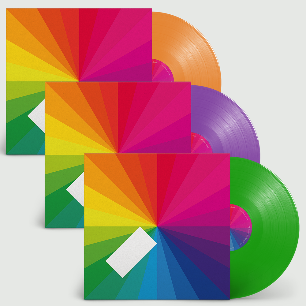 Jamie xx - In Colour Limited Edition Random Colour Vinyl Record Album