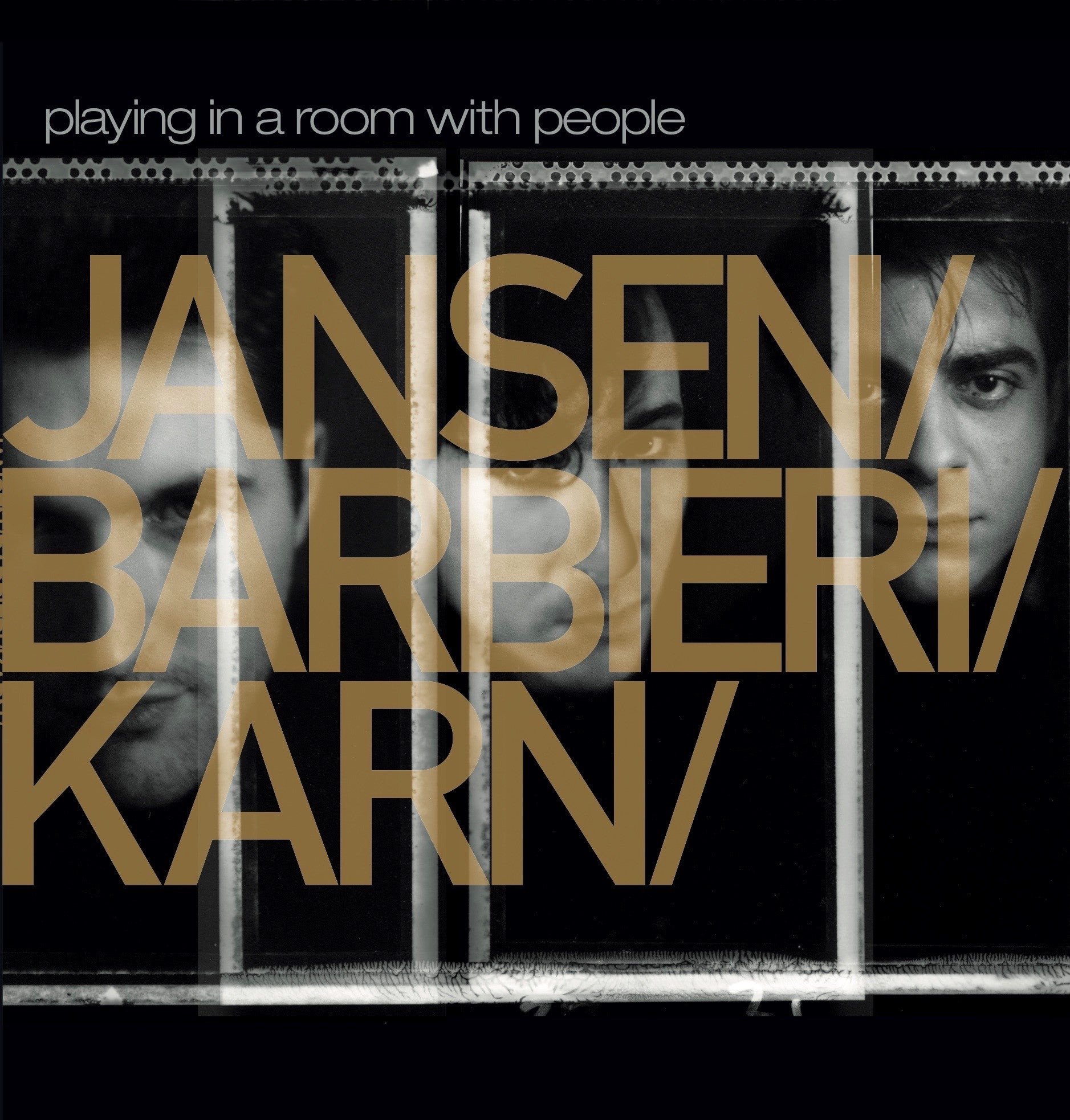 Jansen / Barbieri / Karn - Playing In A Room With People (RSD 2020 Drop One) 2LP Gold Colour Vinyl Record Album
