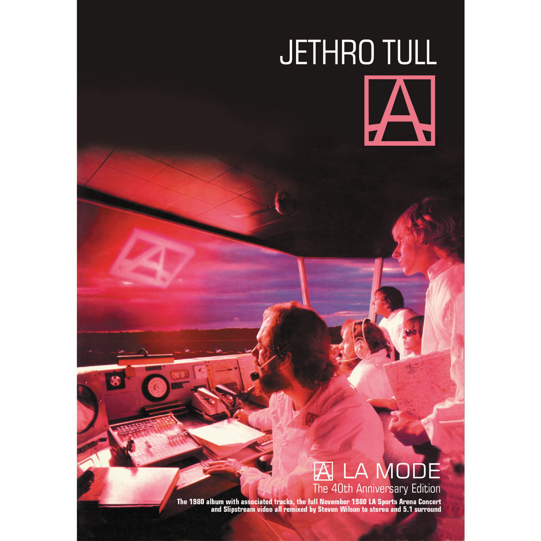Jethro Tull - A (A La Mode) 40th Anniversary Edition 3CD + DVD Case bound DVD + 104 Page Book