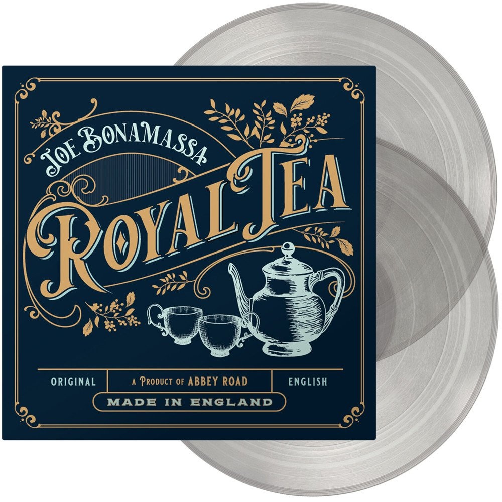 Joe Bonamassa - Royal Tea 2LP Transparent Clear Colour Vinyl Record