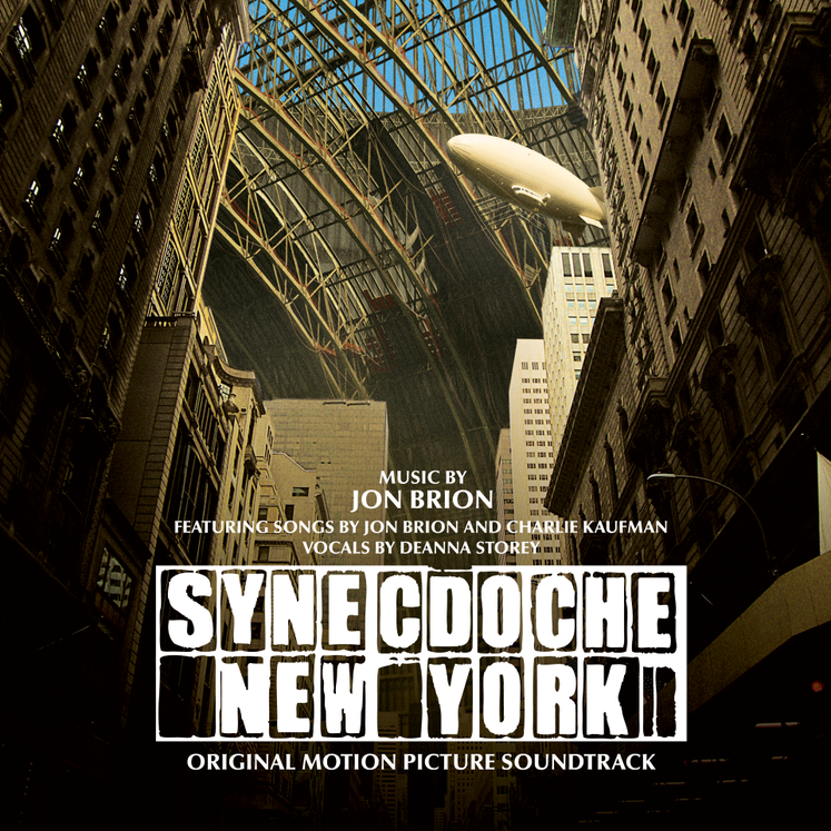 Jon Brion - Synecdoche New York (RSD 2020 Drop Three) White Colour Vinyl Record Album