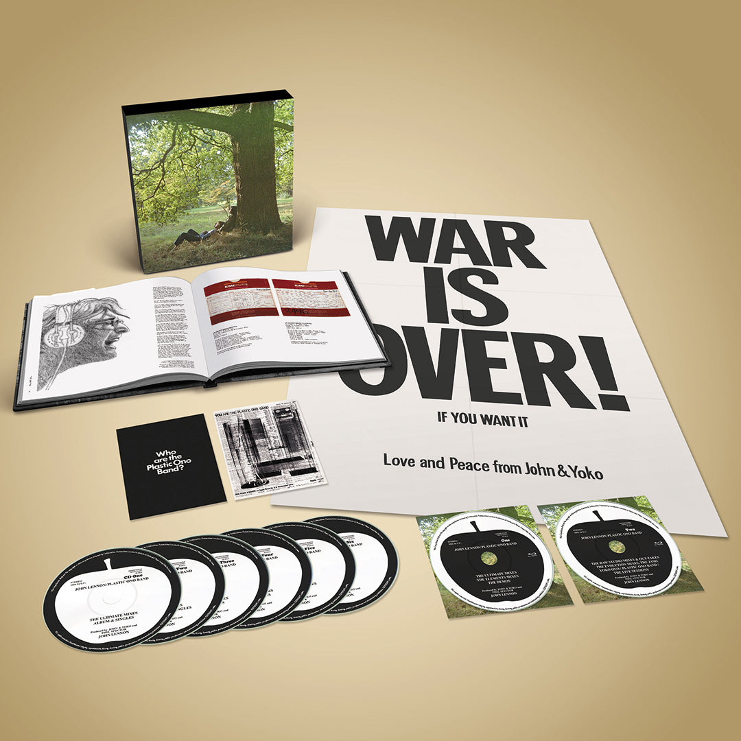John Lennon - Plastic Ono Band (The Ultimate Mixes) Super Deluxe CD Blu-ray Box Set