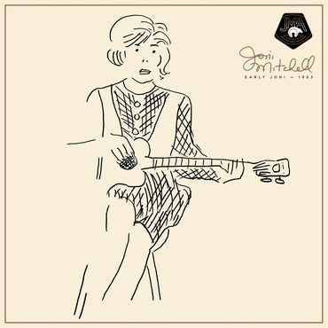 Joni Mitchell ‎– Early Joni 1963 180g Vinyl Record Album