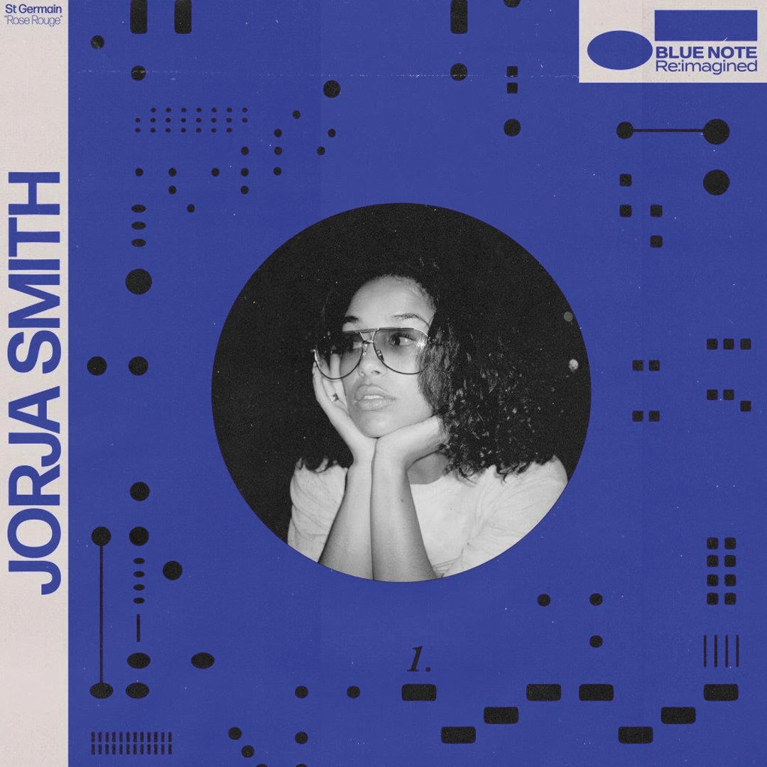 "Jorja Smith & Ezra Collective - Rose Rouge / Footprints Blue Note Re:imagined 7"" Vinyl Record"