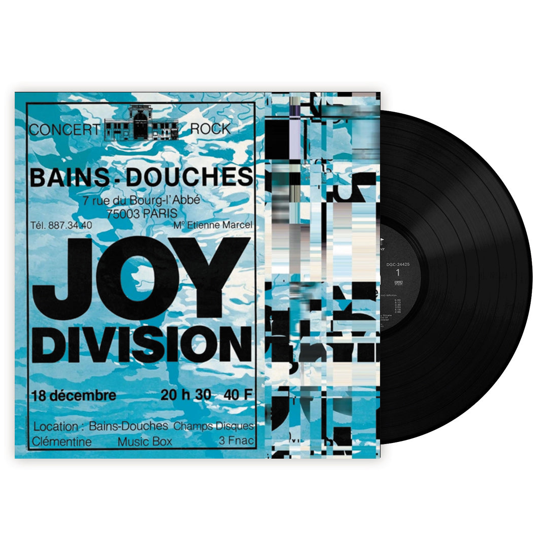 Joy Division - Live at Les Bains Douches, Paris Vinyl 180g Record Album