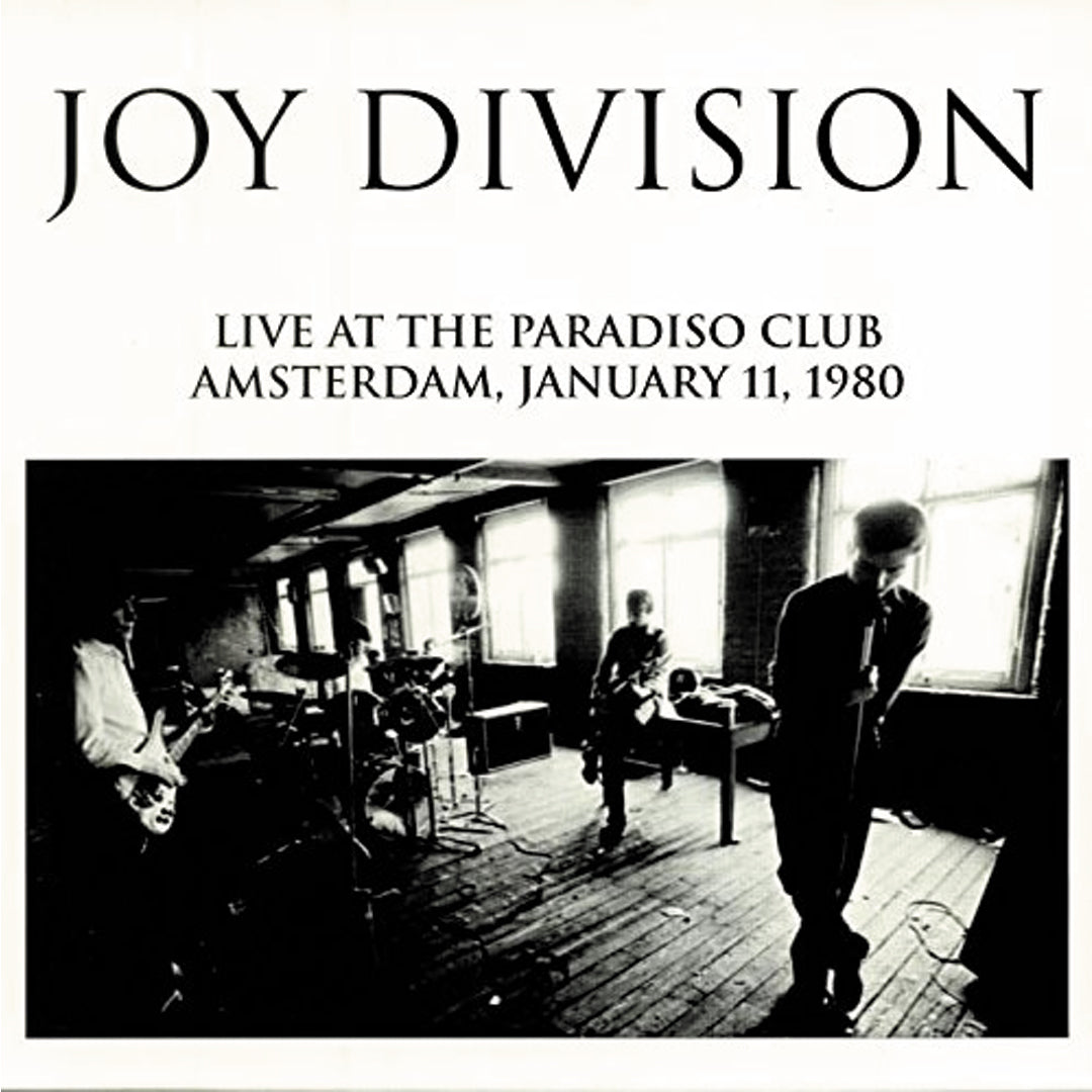 Joy Division - Live at the Paradiso Club Vinyl Record Album