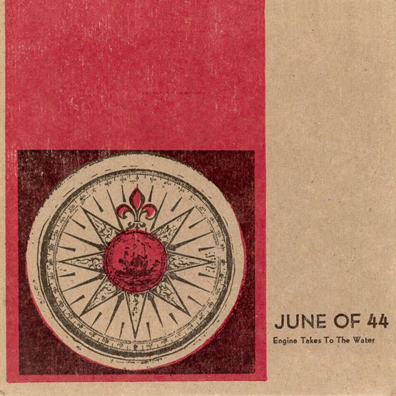 June of 44 - Engine Takes to the Water (RSD 2020 Drop One) Colour Vinyl Record Album