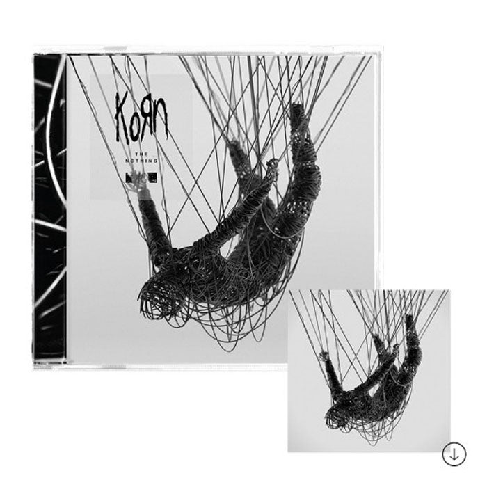 Korn‎ – The Nothing CD Album, CD, X-Records