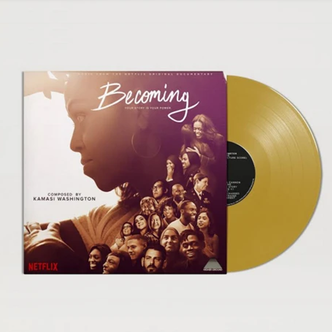 Kamasi Washington - Becoming (Netflix Original) Limited Edition Gold Colour Vinyl Record