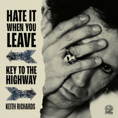 "Keith Richards - Hate It When You Leave (RSD 2020 Drop Three) Red Colour 7"" Vinyl Record"