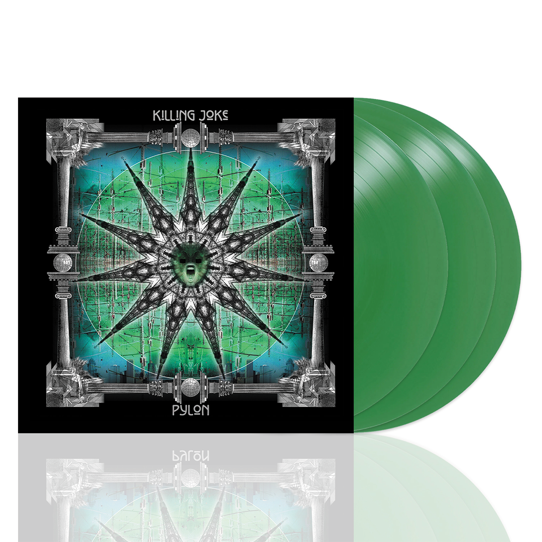 Killing Joke - Pylon Deluxe 3LP Green Colour Vinyl Record Album