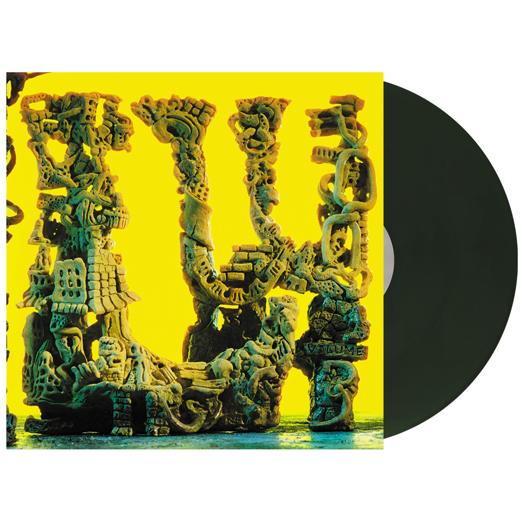 King Gizzard & The Lizard Wizard - L.W. Gator Green Colour Vinyl Record Album