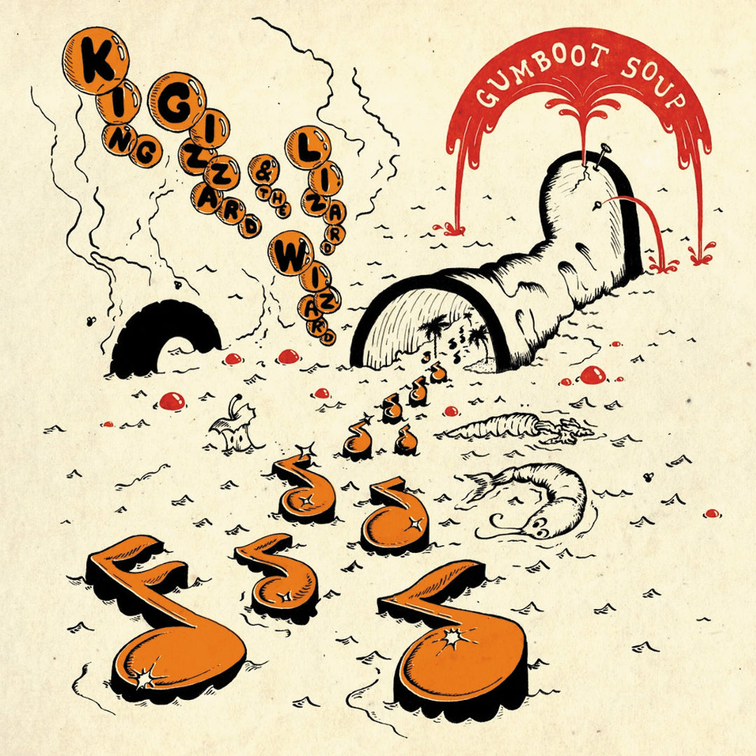 King Gizzard & The Lizard Wizard - Gumboot Soup LRS Limited Edition Ecomix Colour Vinyl Record Album