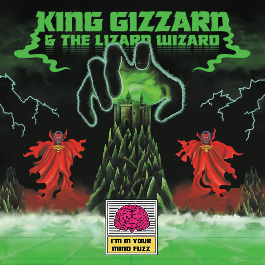 King Gizzard & The Lizard Wizard - I'm In Your Mind Fuzz LRS Limited Edition Ecomix Colour Vinyl Record Album