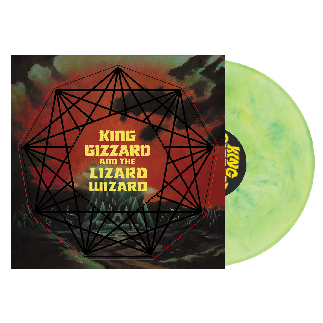 King Gizzard & The Lizard Wizard - Nonagon Infinity LRS Limited Edition Ecomix Colour Vinyl Record Album