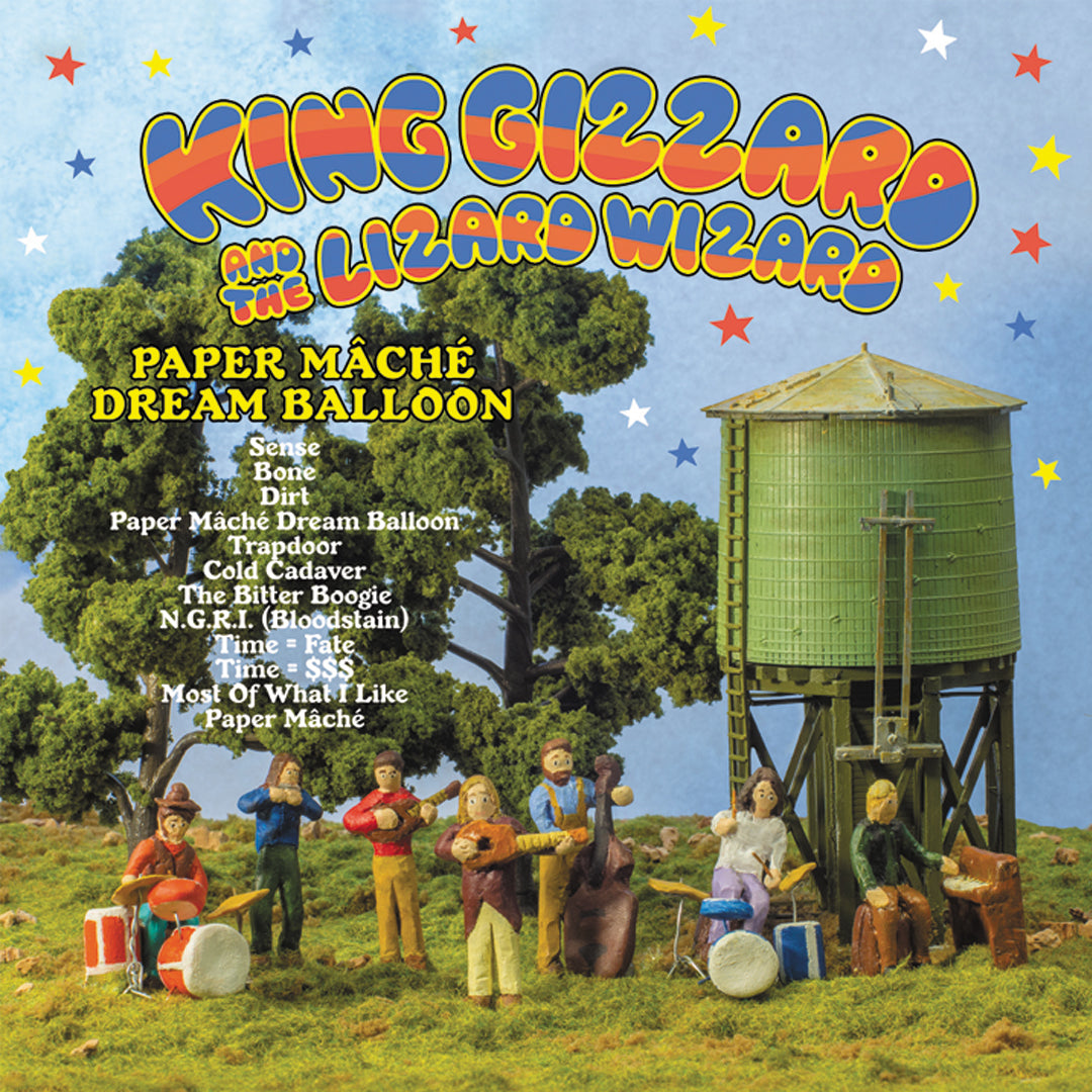 King Gizzard & The Lizard Wizard - Paper Mache Dream Balloon LRS Limited Edition Ecomix Colour Vinyl Record Album
