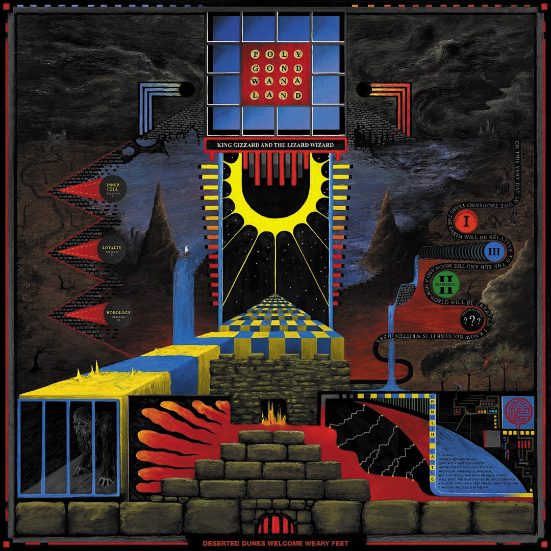King Gizzard & The Lizard Wizard - Polygondwanaland LRS Limited Edition Ecomix Colour Vinyl Record Album