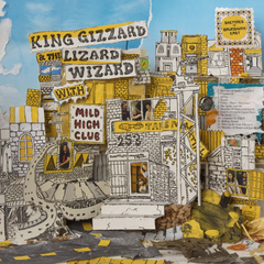 King Gizzard & The Lizard Wizard - Sketches Of Brunswick East LRS Limited Edition Ecomix Colour Vinyl Record Album