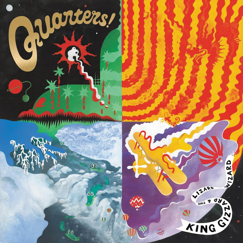 King Gizzard & The Lizard Wizard - Quarters LRS Limited Edition Ecomix Colour Vinyl Record Album