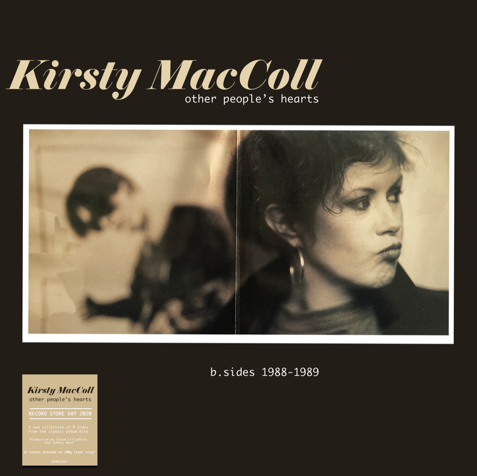 Kirsty MacColl - Other People's Hearts - B-Sides 1988-1989 (RSD 2020 Drop One) 180g Clear Colour Vinyl Record Album