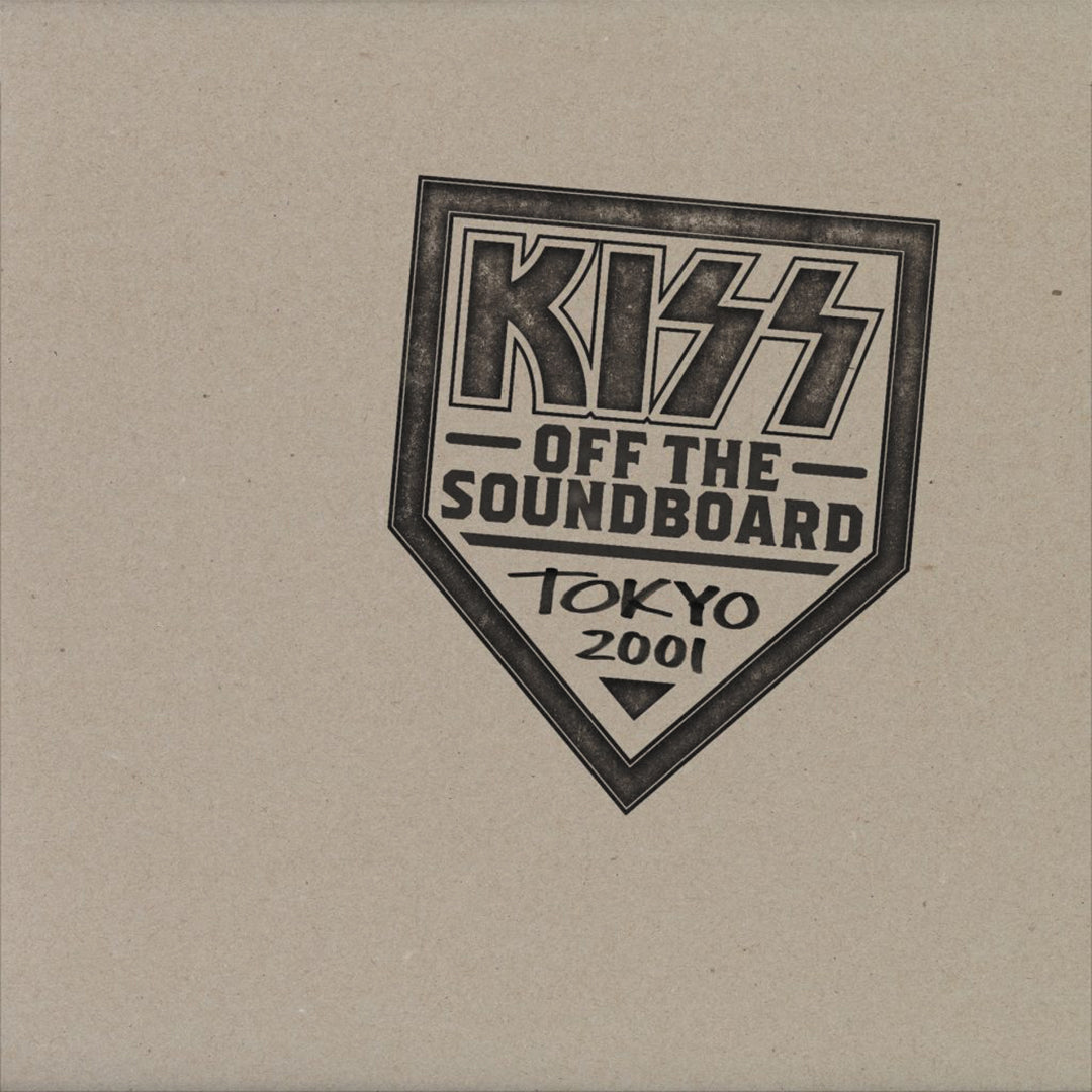 KISS - Off The Soundboard: Tokyo Dome 3LP Vinyl Record Album