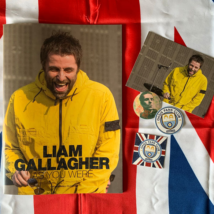 "Liam Gallagher -  ""As You Were"" Limited Edition 24 Page Fanzine, Books, X-Records"