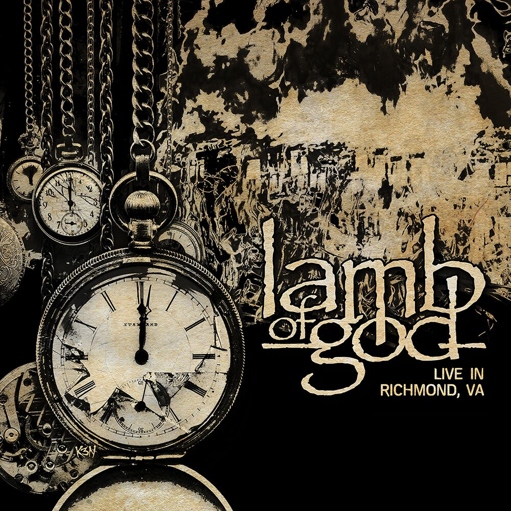 Lamb Of God - Live In Richmond Vinyl Record Album