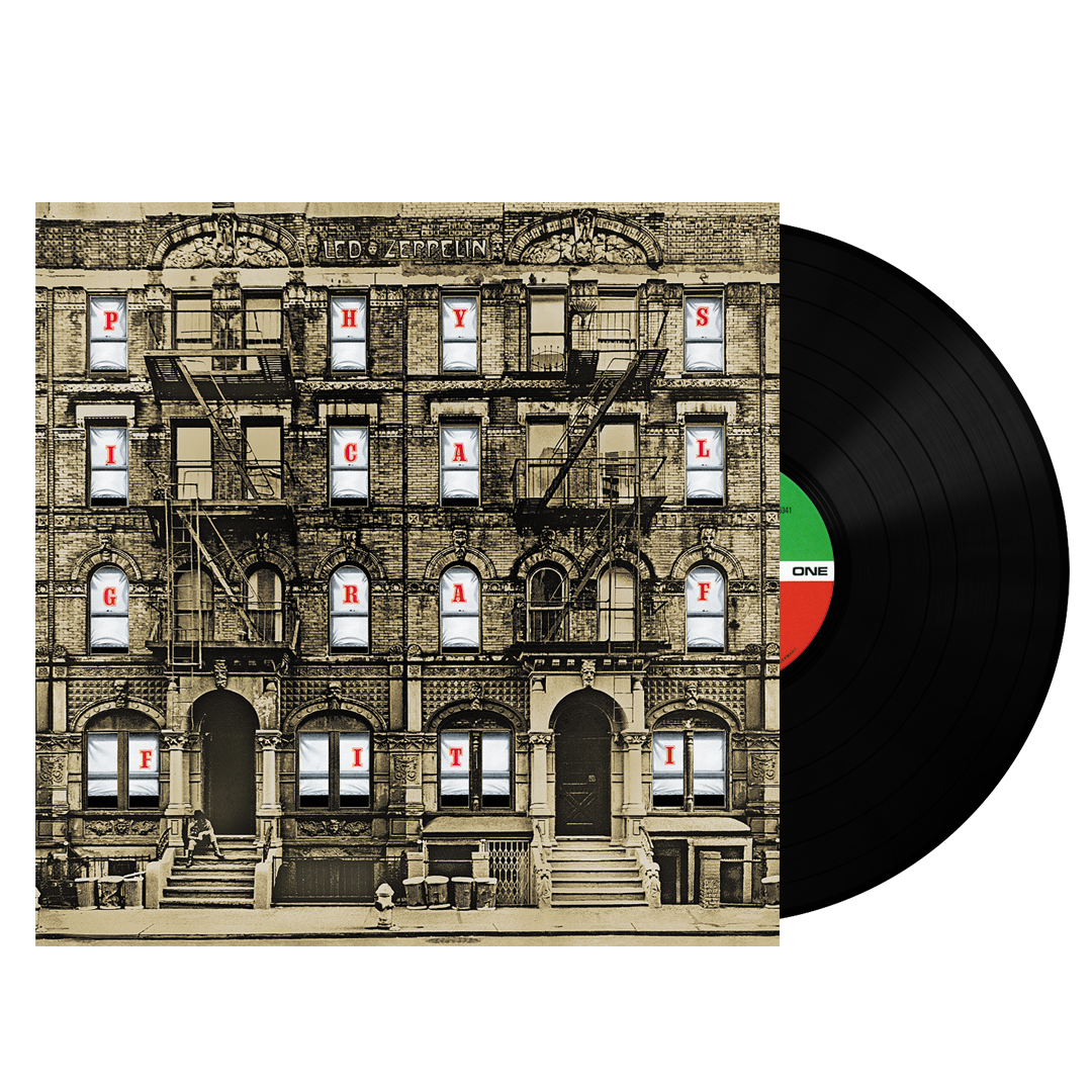 Led Zeppelin ‎– Physical Graffiti 180g Vinyl Record Album