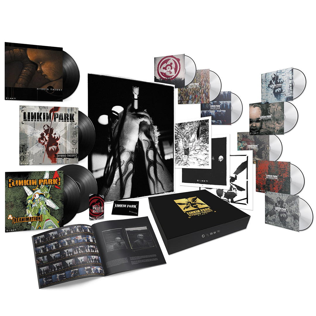 Linkin Park - Hybrid Theory 20th Anniversary Edition Super Deluxe Vinyl CD DVD Box Set