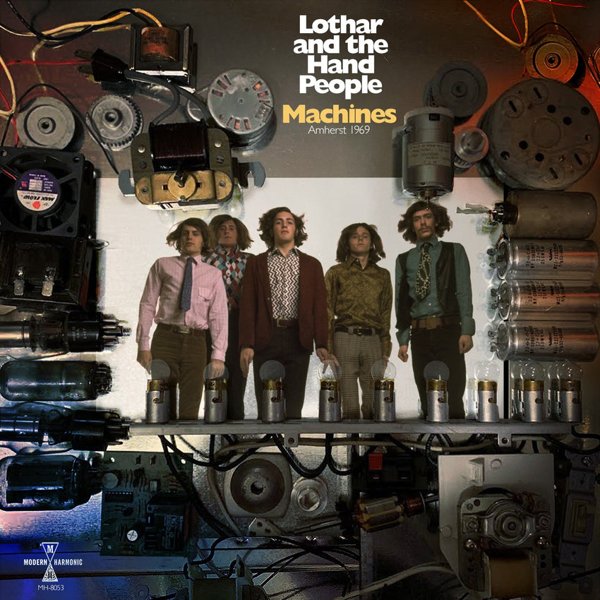 Lothar and The Hand People - Machines: Amherst 1969 (RSD 2020 Drop One) Colour Vinyl Record Album