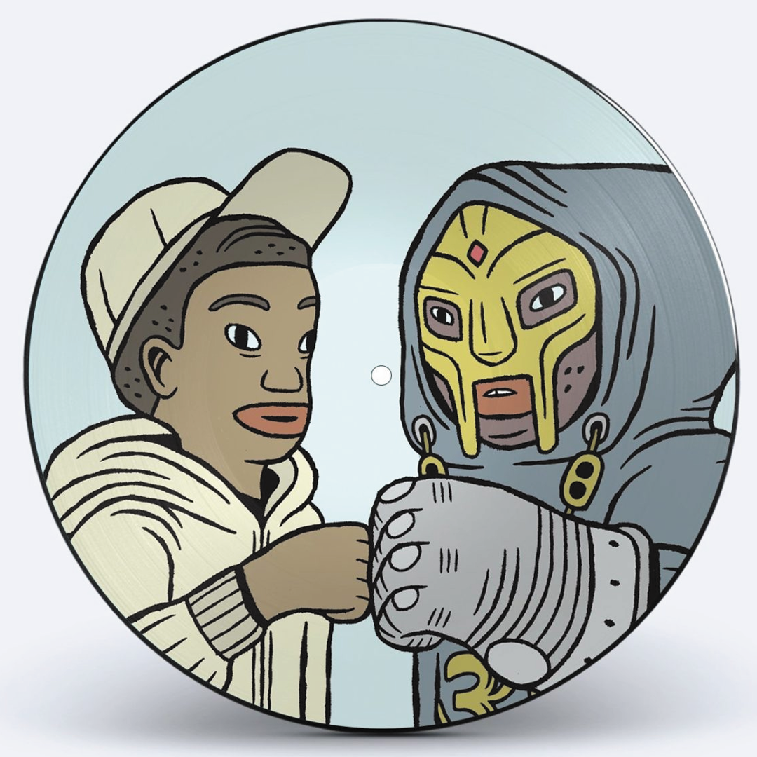 MF Doom & Bishop Nehru - Nehruviandoom Anniversary Picture Disc Vinyl Record Album