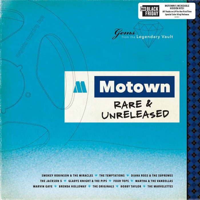 Various Artists	- Motown Rare & Unreleased (RSD Black Friday) Vinyl Record Album