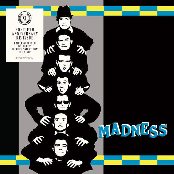 "Madness - Work, Rest & Play EP - 40th Anniversary (RSD 2020 Drop One) 2 x 7"" Gatefold Vinyl Record"