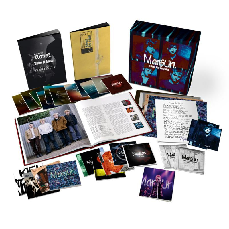 Mansun - Closed For Business 25th Anniversary Deluxe 25 CD Box Set