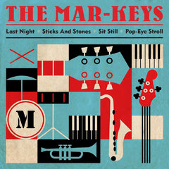 "The Mar-Keys - Last Night EP (RSD 2020 Drop One) 10"" Red Colour Vinyl Record"