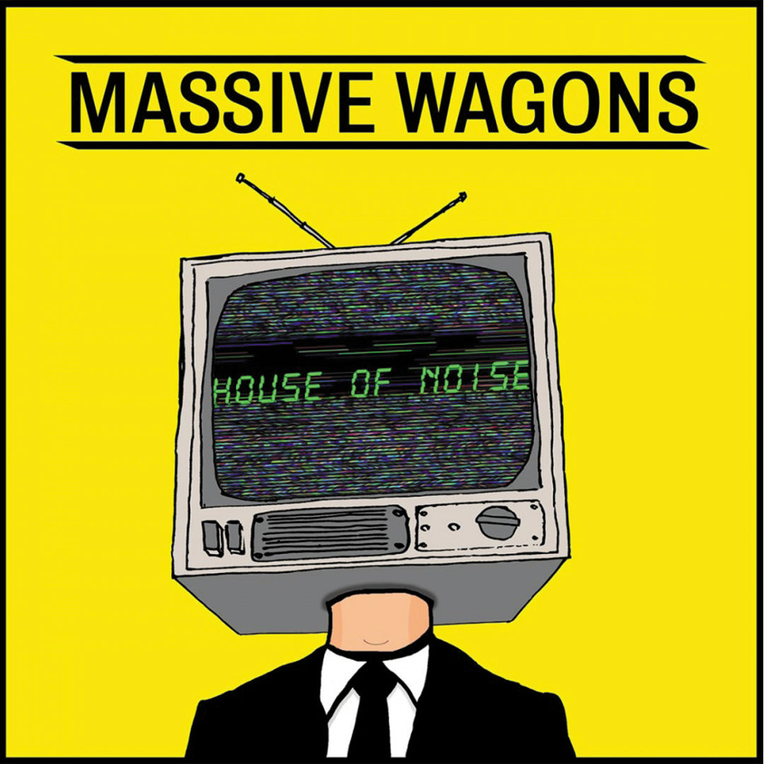 Massive Wagons - House Of Noise (UK Indie Exclusive) Yellow Colour Vinyl Record
