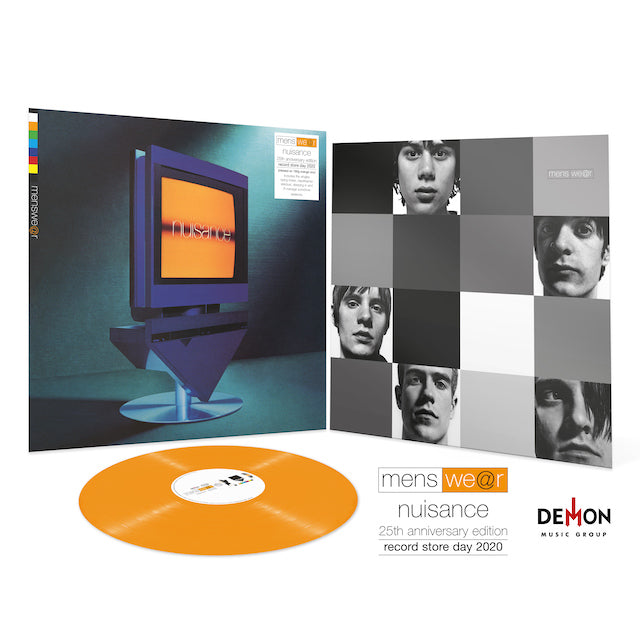 Menswear - Nuisance - 25th Anniversary (RSD 2020 Drop Three) 180g Orange Colour Vinyl Record