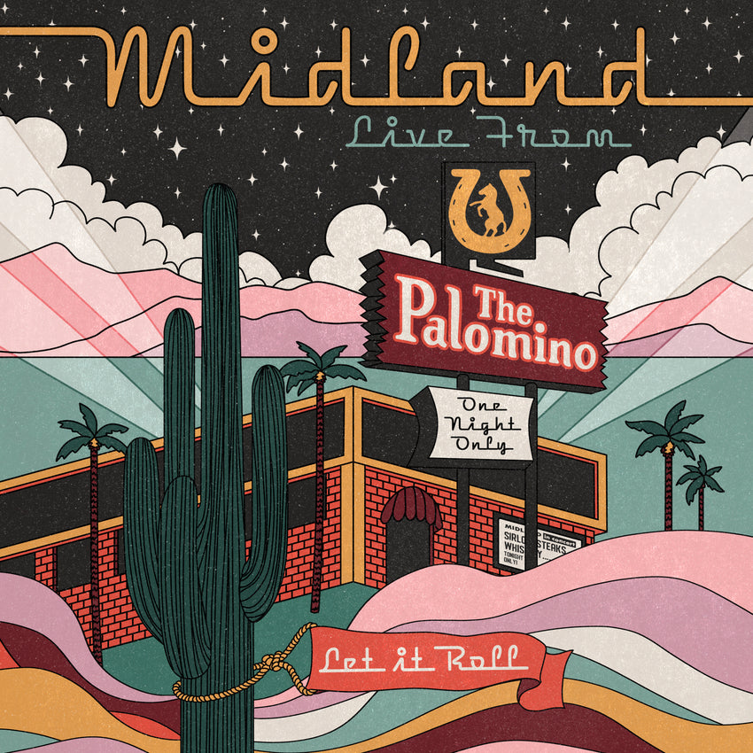 Midland - Live at the Palomino (RSD 2020 Drop One) Vinyl Record Album