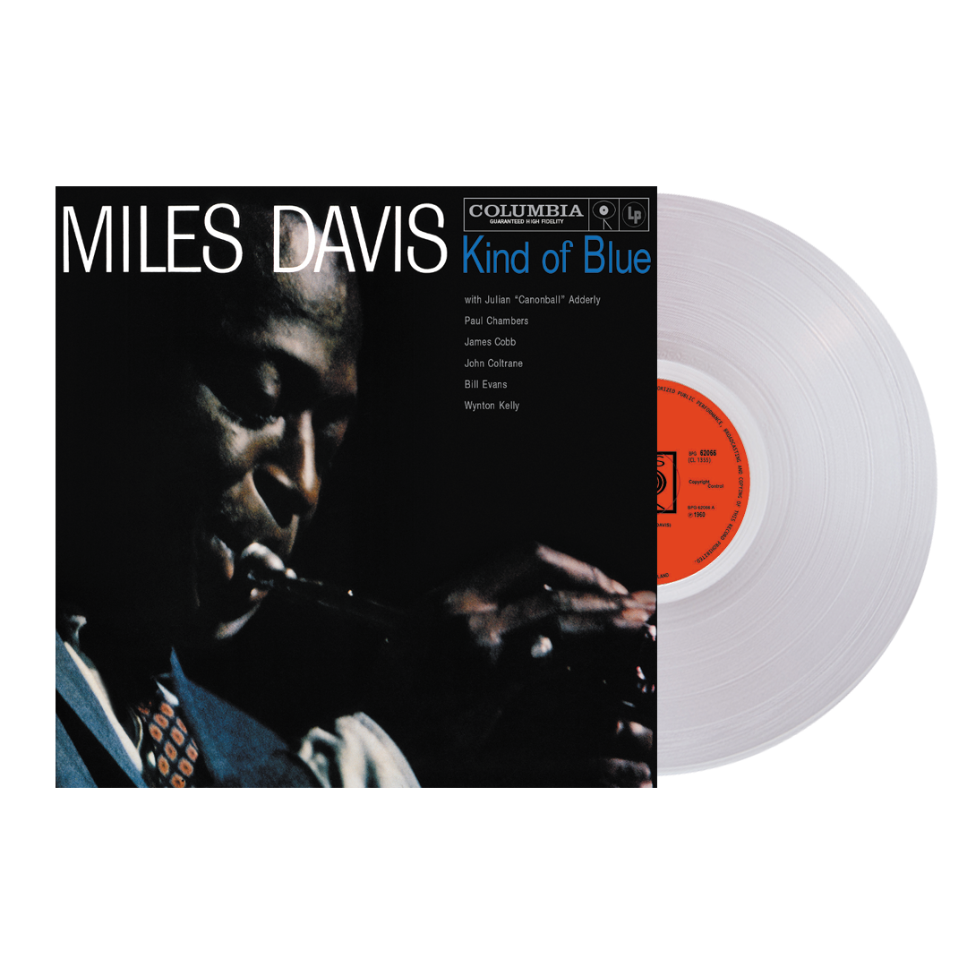Miles Davis - Kind Of Blue 'Clear Classics' Ultra Clear Colour Vinyl Record Album