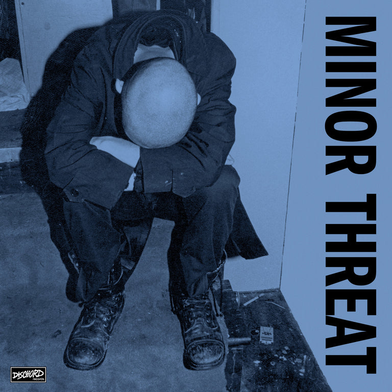 "Minor Threat - First 2 7""s Limited Edition Blue Colour Vinyl Record Album"